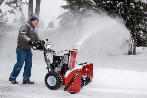 Двойная лопата для уборки снега
